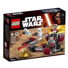 لگو سری Star Wars مدل Galactic Empire Battle Pack 75134