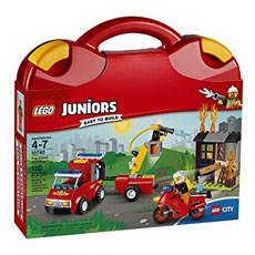 لگو سری Juniors مدل Fire Patrol Suitcase 10740