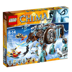 لگو سری Legends of Chima مدل Maula's Ice Mammoth Stomper کد 70145